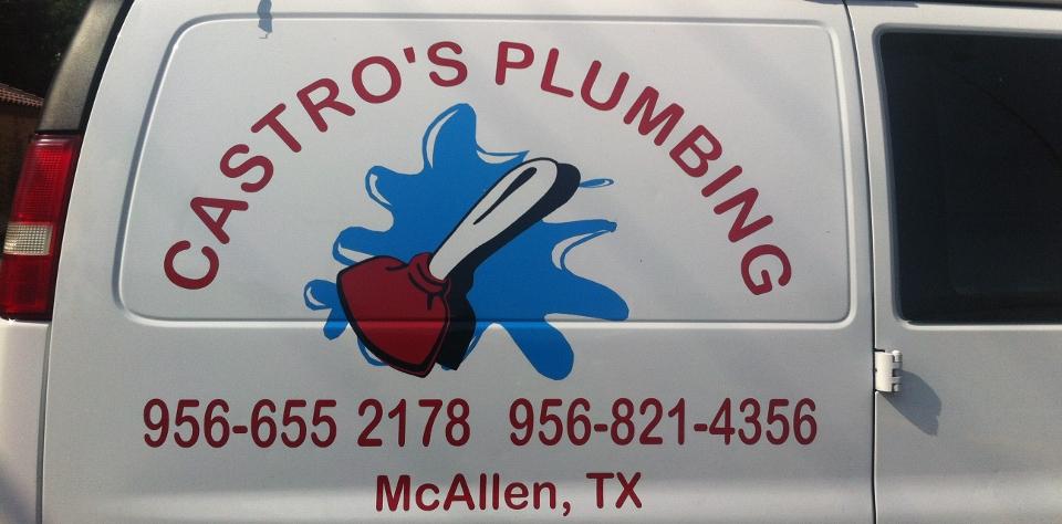 castro's plumbing van web